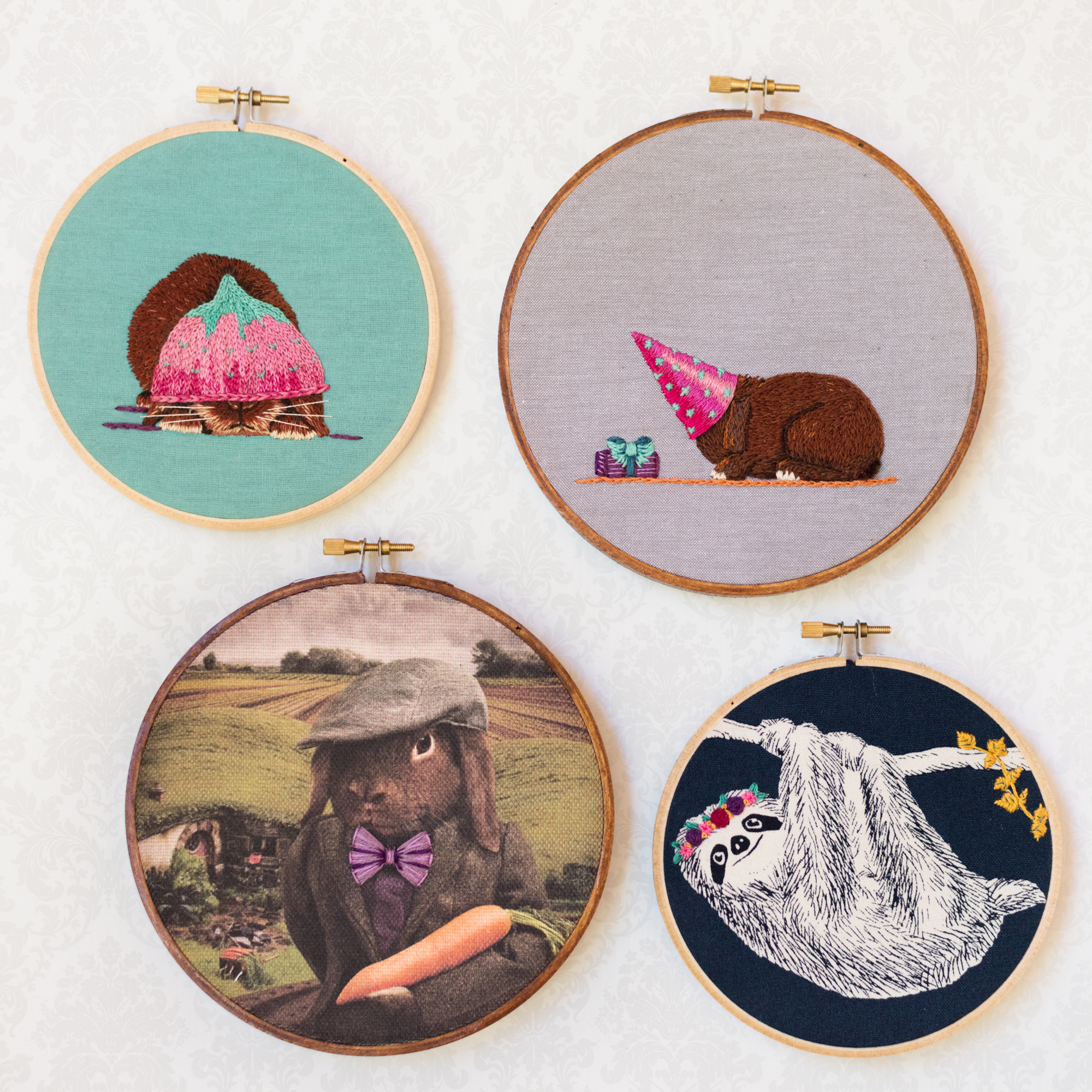 Embroidered Oddballs